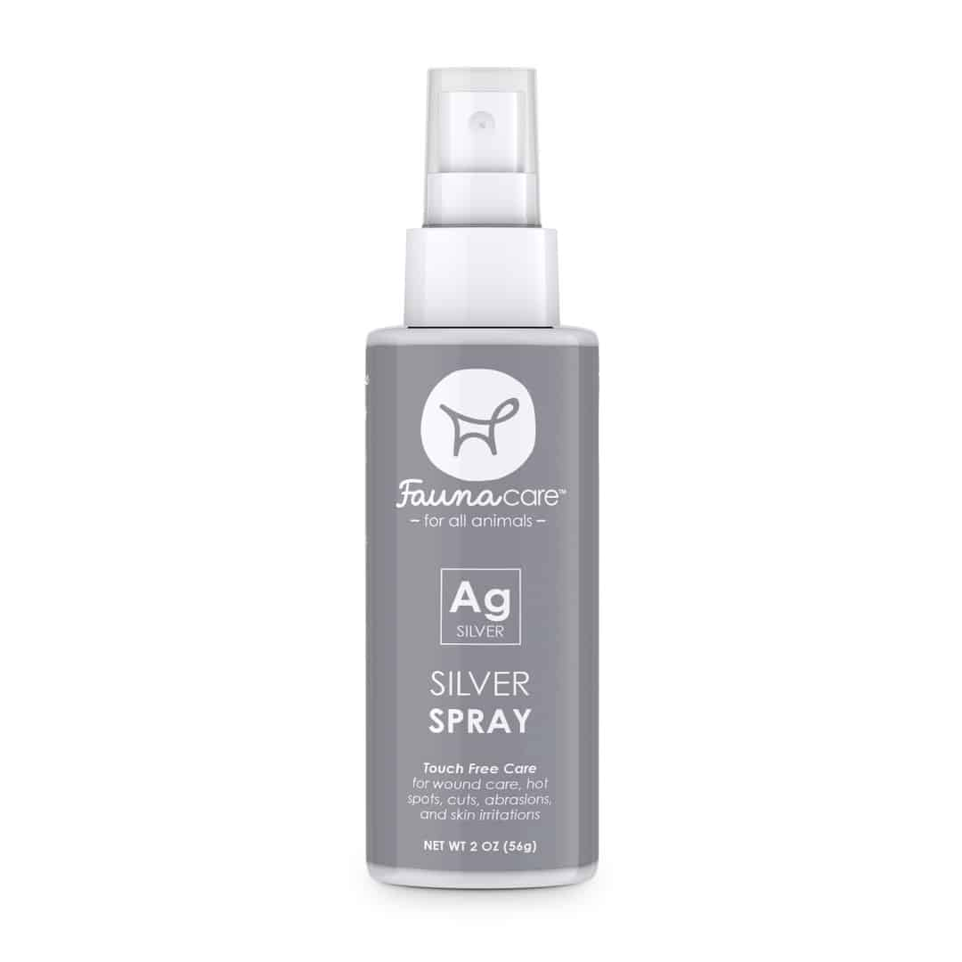 fauna care silver spray bottle