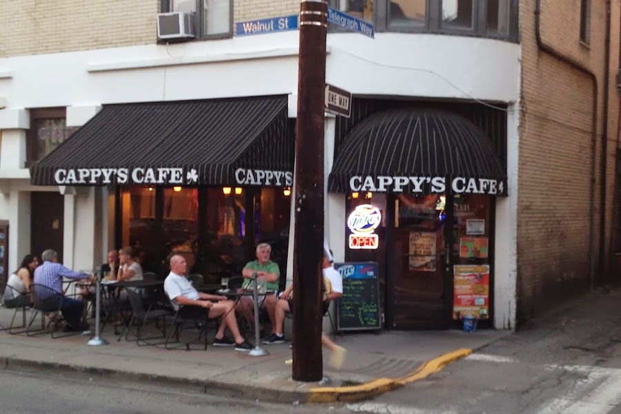 Front of Cappy's Cafe