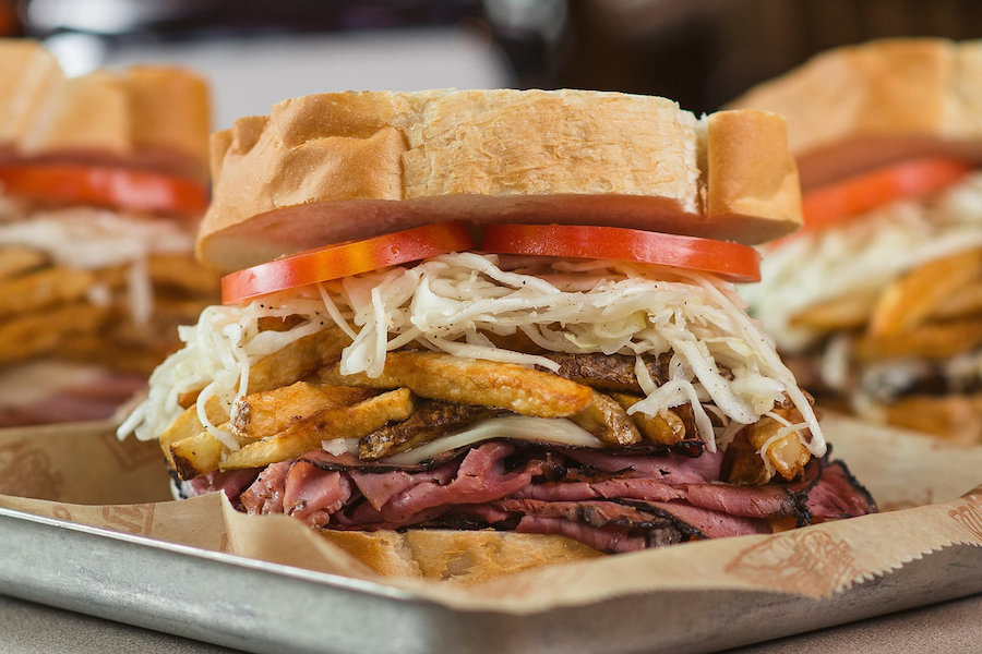 Sandwiches from Primanti Bros