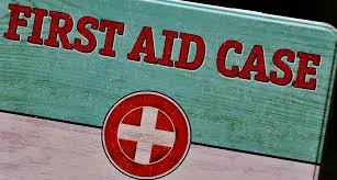 first aid case kit