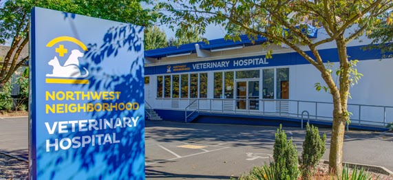 The exterior of the Northwest Neighborhood Veterinary Hospital