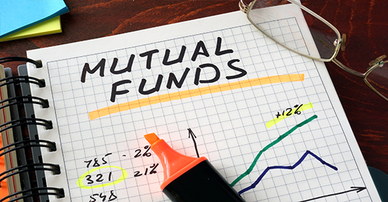 mutual funds notes on grid paper