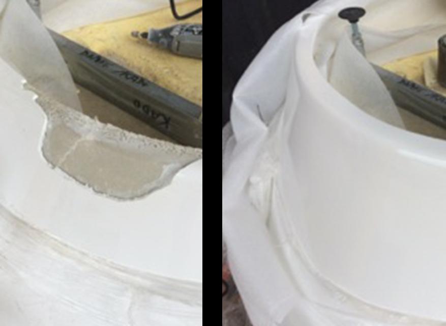 Bath Large Chip Repair