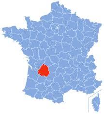 De ligging op de kaart van hondencamping La-Soupèze, vakantie met je hond in Frankrijk!