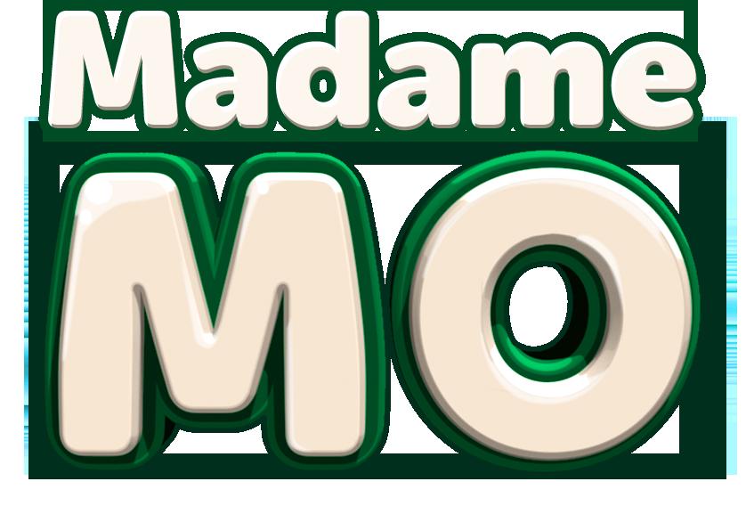 Logotype Madame Mo vertical