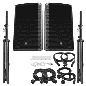items included in a speaker hire package