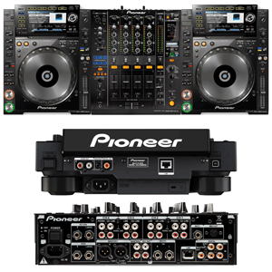multiple views of pioneer cdj 2000 nexus for hire