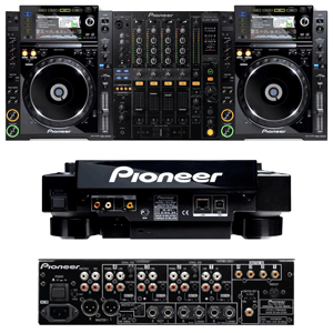 profile view of pioneer cdj 2000 rental package