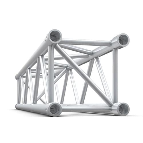 3D view of a box profile truss section
