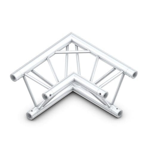 90 degree tri corner truss hire 3d view