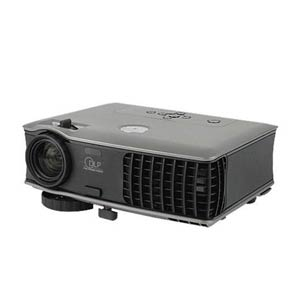 3d view of a dell 3000 lumens projector for hire