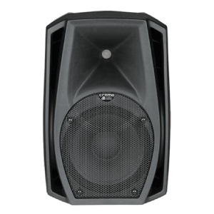 front view of a DB tech small speaker for hire