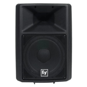 front on view of a passive speaker for rent