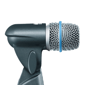 profile view of a shure beta 56a