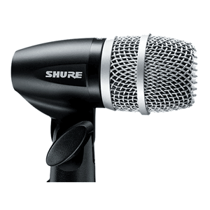 view of a shure pg56 mic to hire