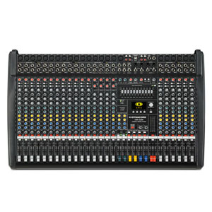 view of a mixing console for hire - dynacord cms2200