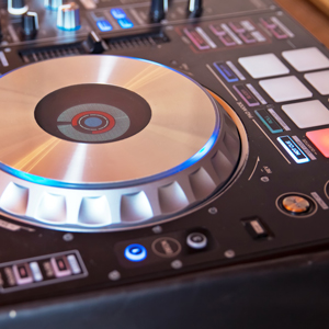 view of a cdj to rent