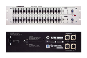 Profile view of an analogue graphic equaliser for rent