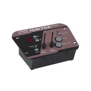 Strobe lighting controller profile view