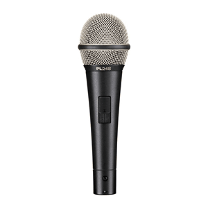 profile of a microphone rental option