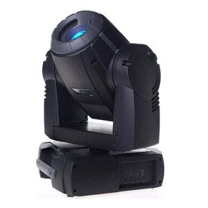 a profile shot of a mac 250 moving head light