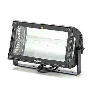 a 3000W strobe light for rent in profile view