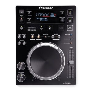 top view of the baby brother in our range of pioneer cdj hire options