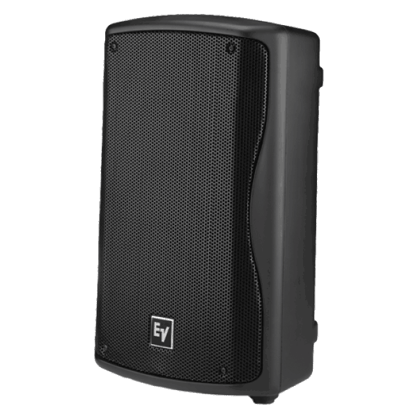 side profile view of a EV 8 inch speaker for hire