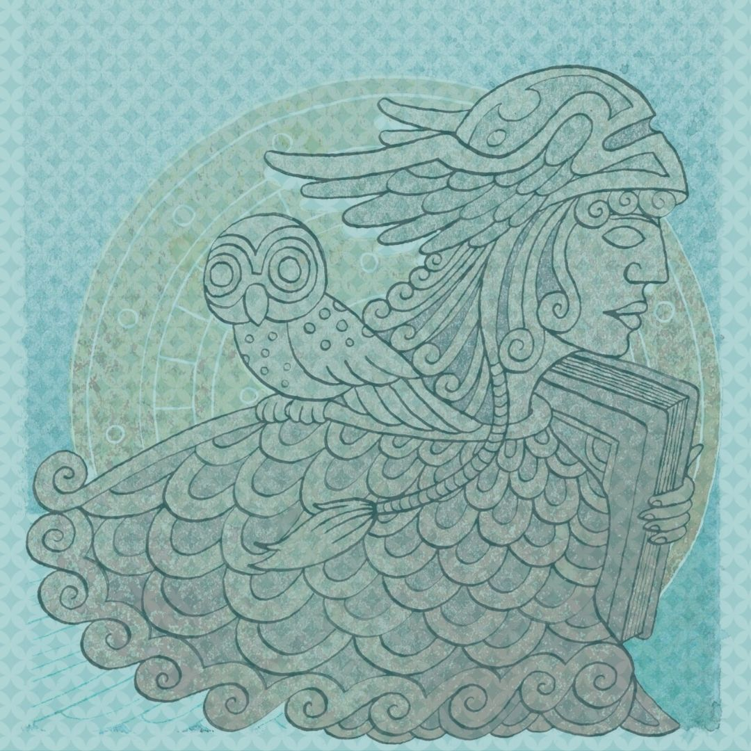 Celtic Muse Wisdom with Owl