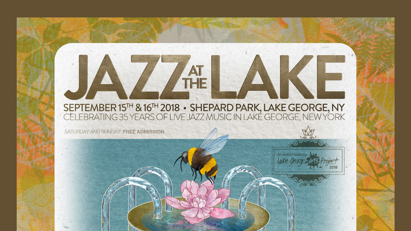 Jazz at the Lake 2018