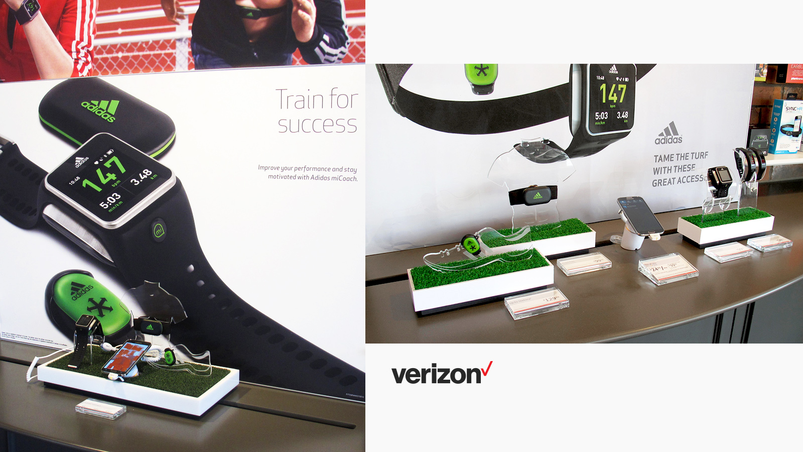 Verizon Visual Merchandising
