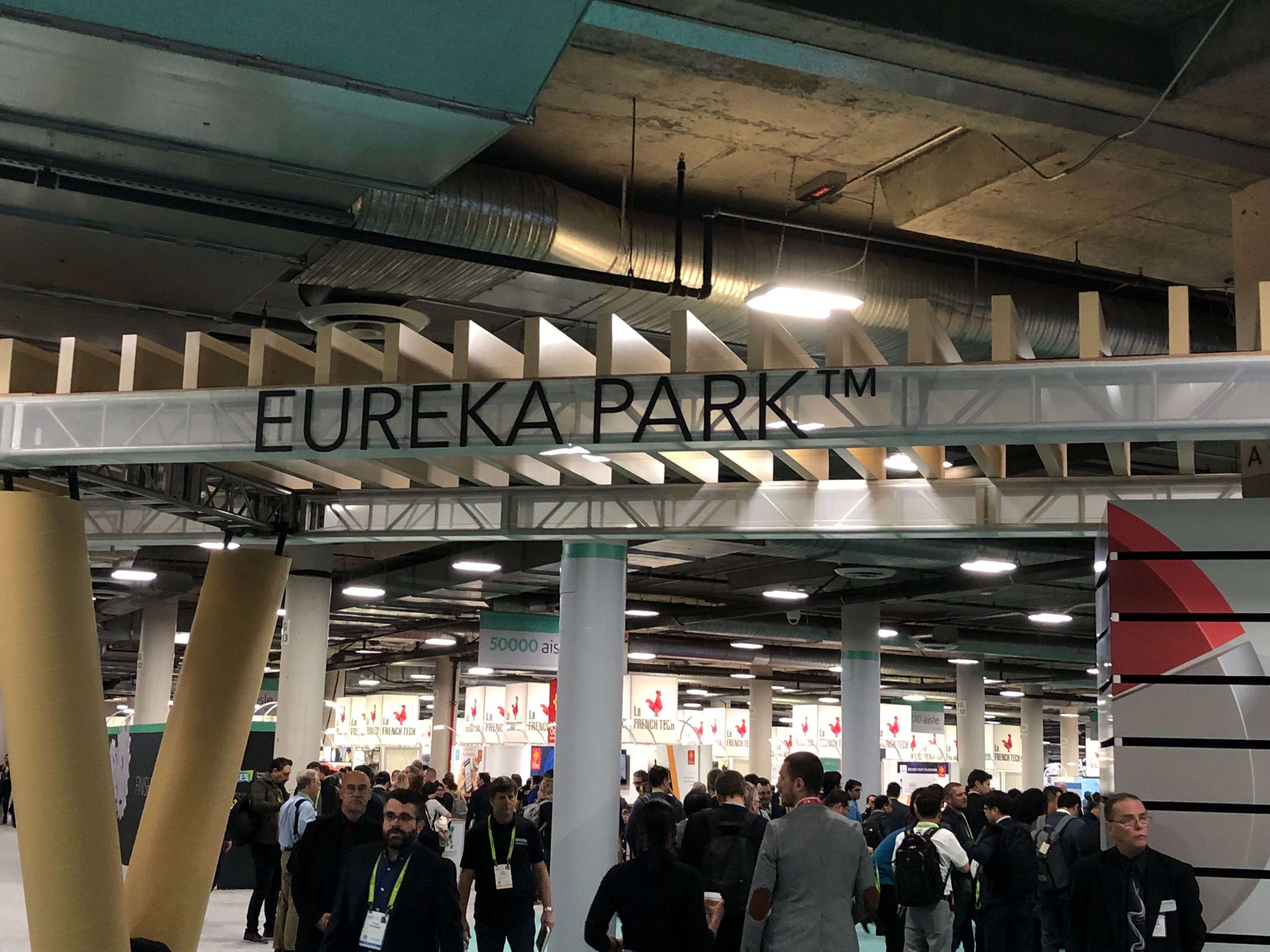 CES, Eureka Park, Startup, Recap