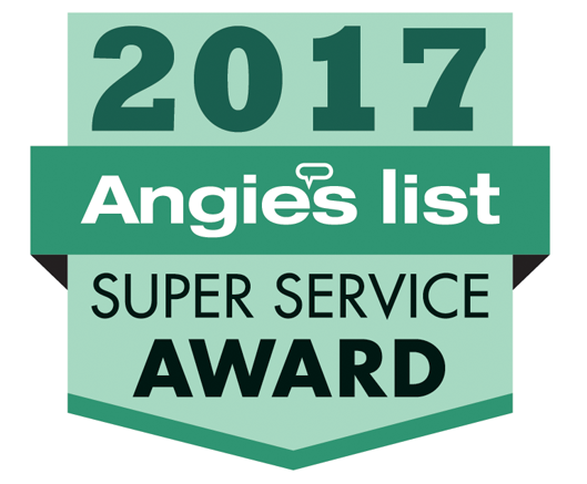 Lehigh Services were awarded the 2017 Angie's List Super Service Award