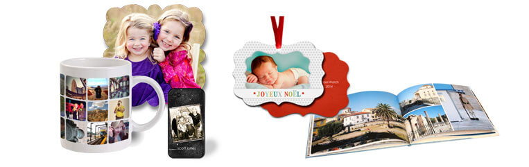 Order customizable Photo Gifts