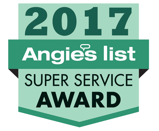 under pressure is a proud angie's list super service award winner for 10+ consecutive years