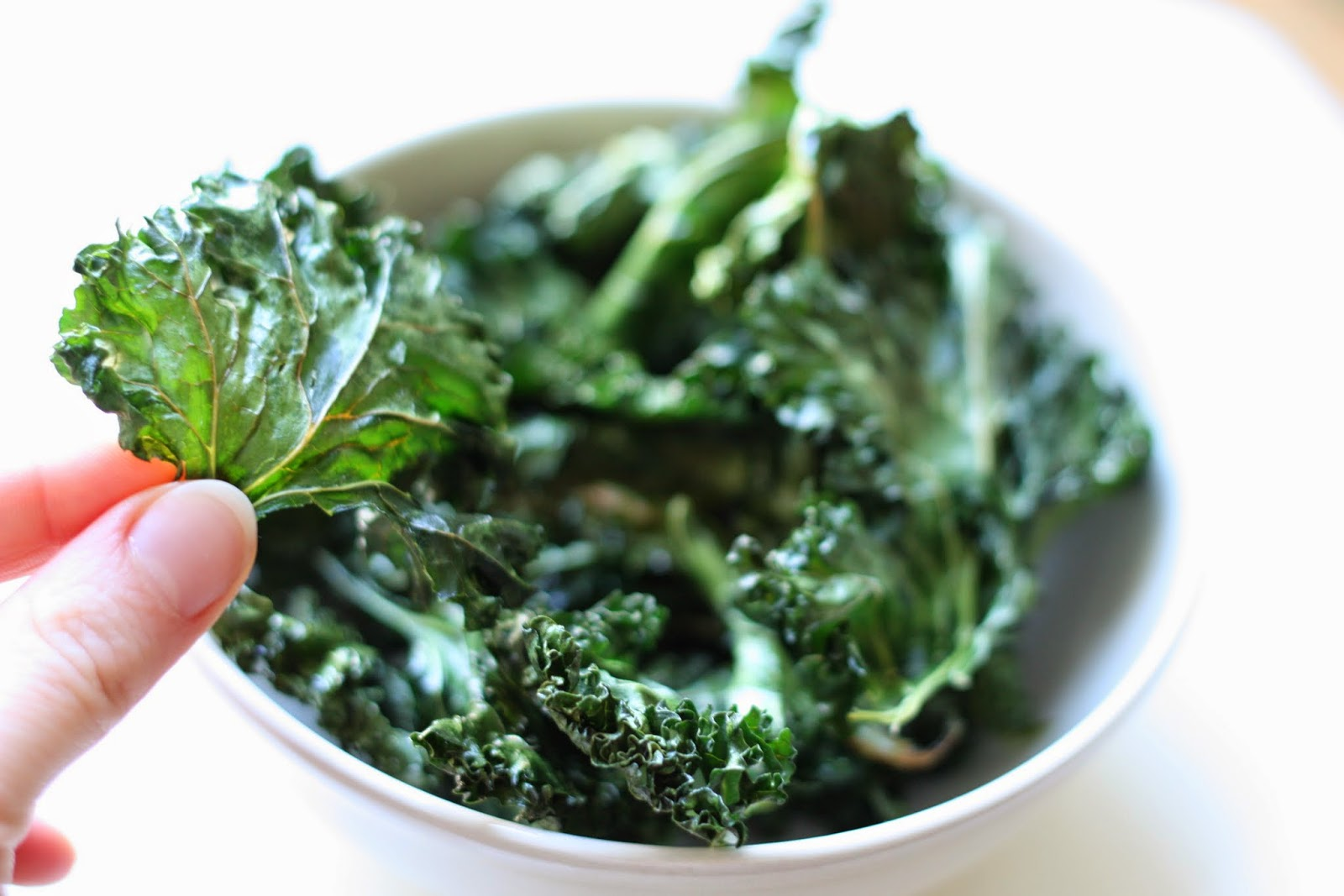 Kale veggie chips