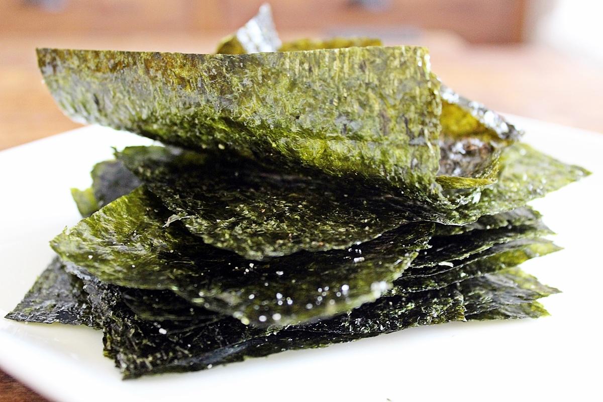 Seaweed veggie chips