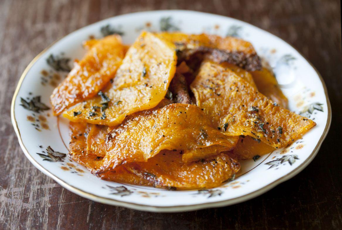 Butternut squash veggi chips