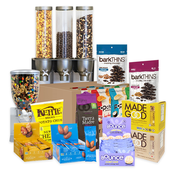 Our huge variety of healthy office snacks are available in our delicious box plans!