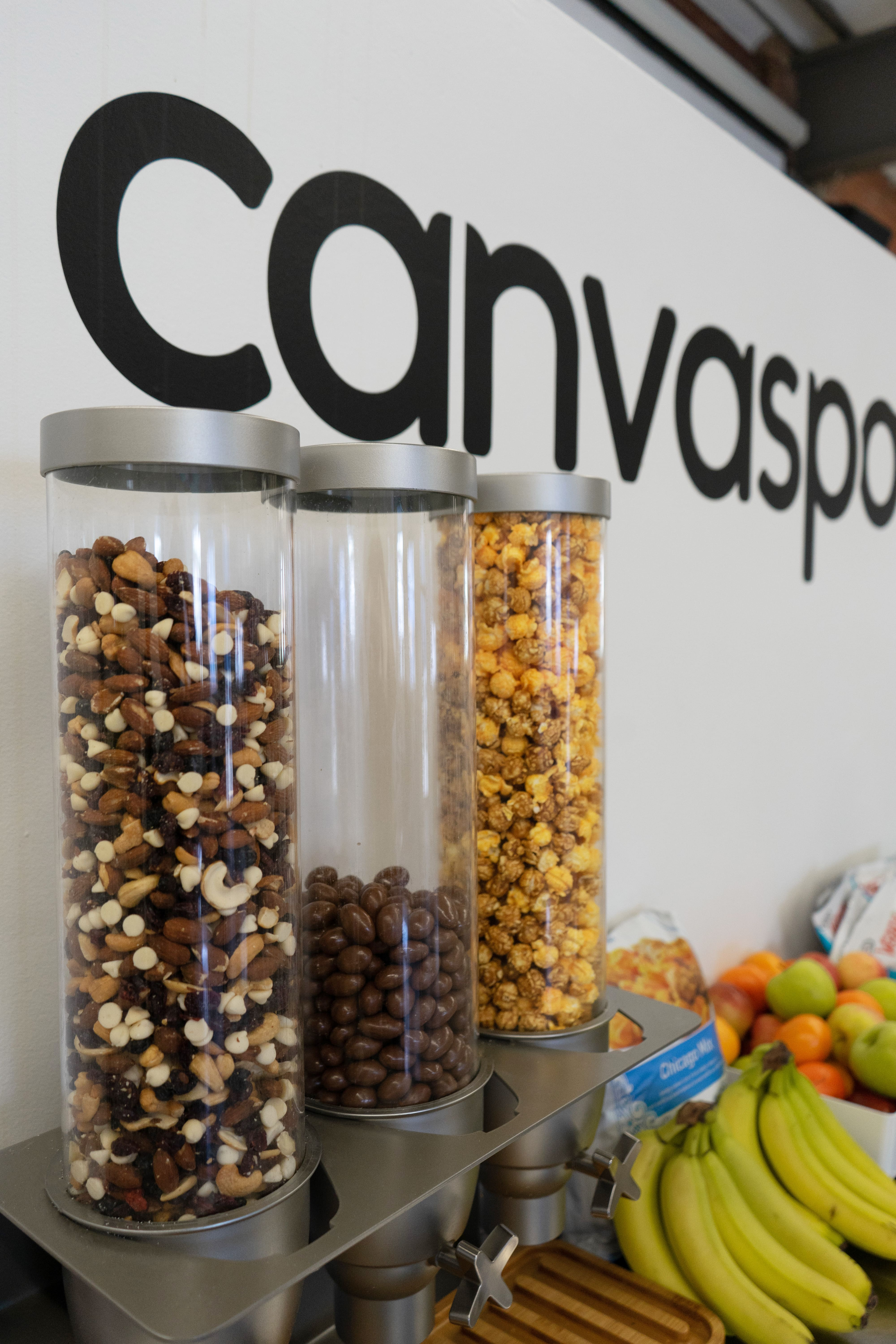 Bulk office snacks help with a green office