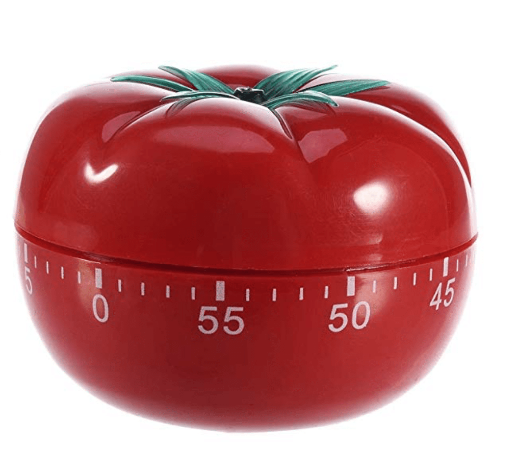 Use the office gadget Pomodoro Timer as a way to sprint through tasks!