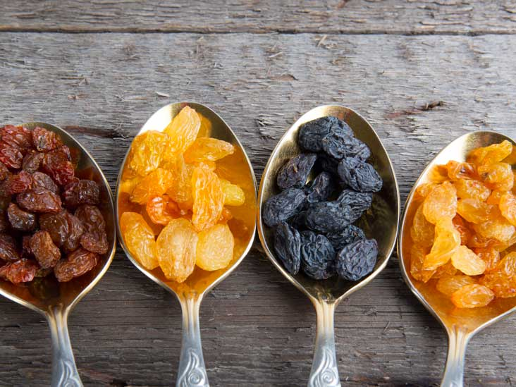 Healthy sugar alternatives like dried fruit are easy healthy office snacks to share.