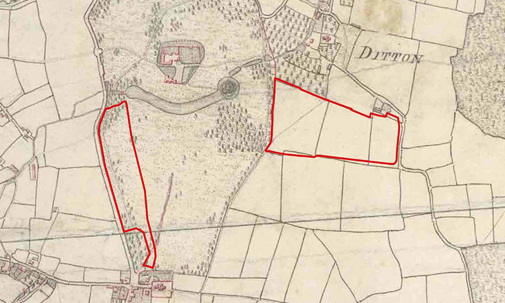 East Malling Trust historic map