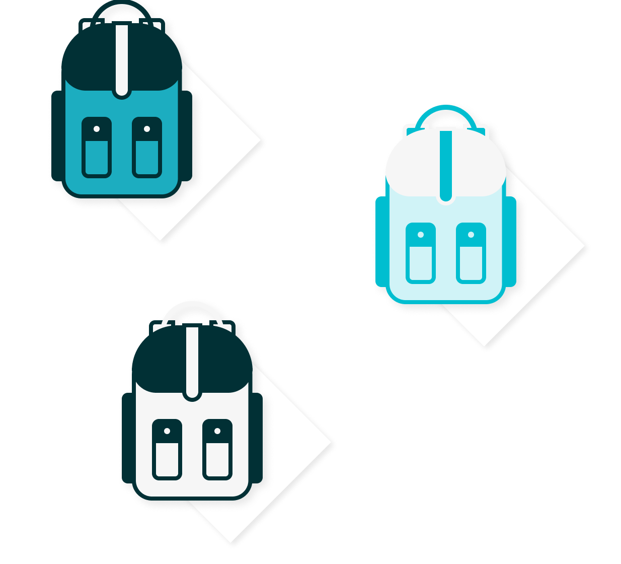 illustration representing product variations and kits