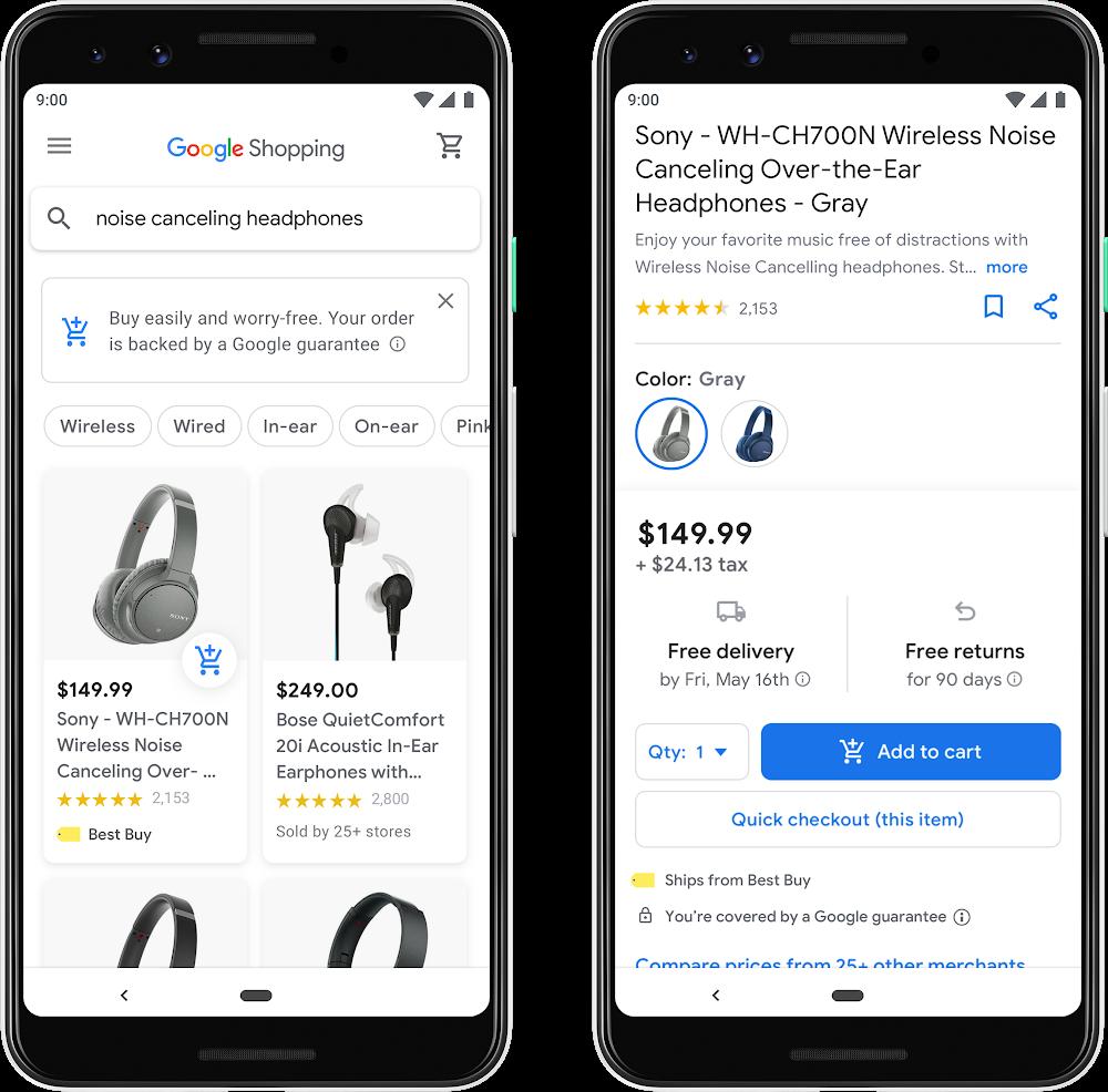 google universal shopping cart icon