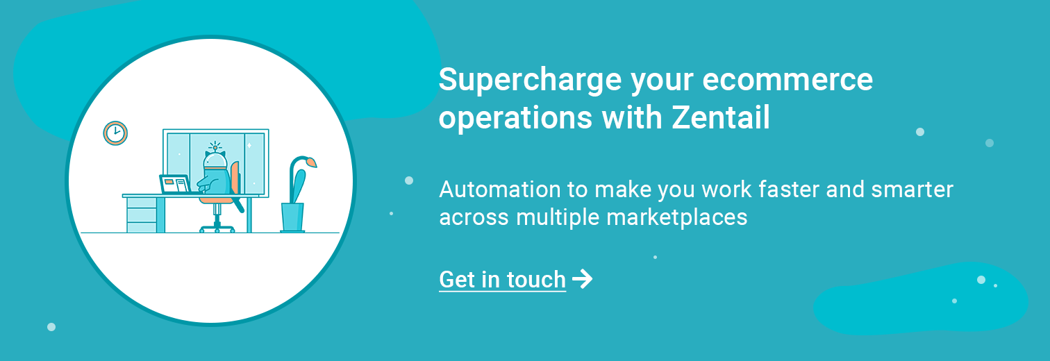 contact form to learn more about zentail automation