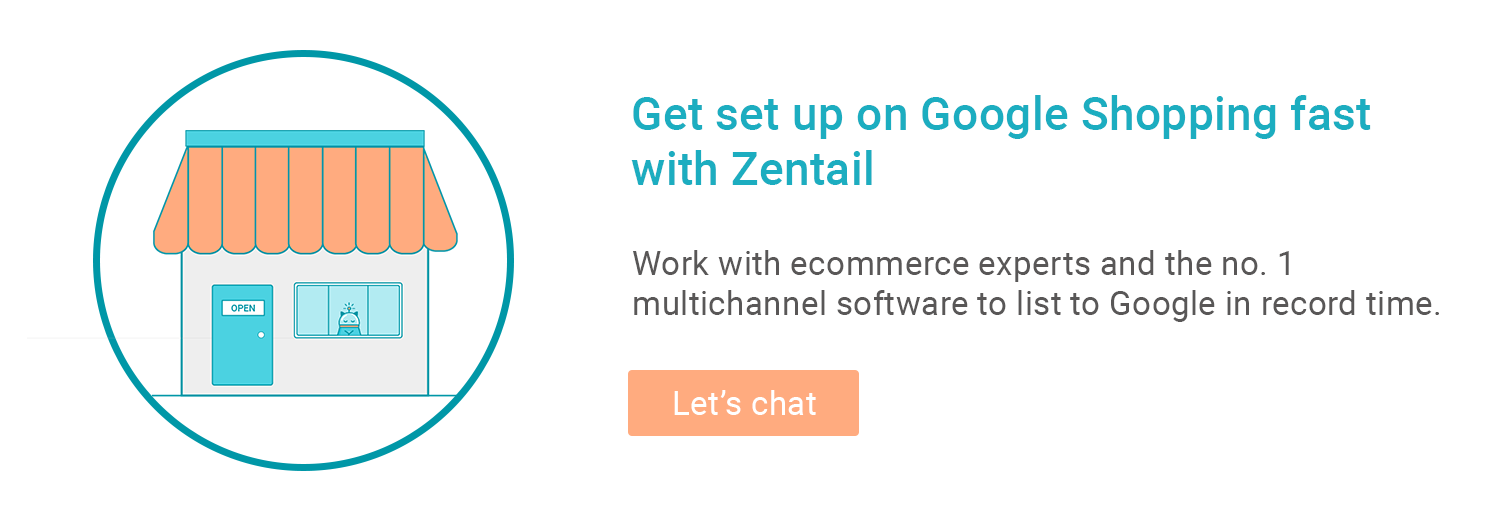 contact form for getting help setting up on google shopping