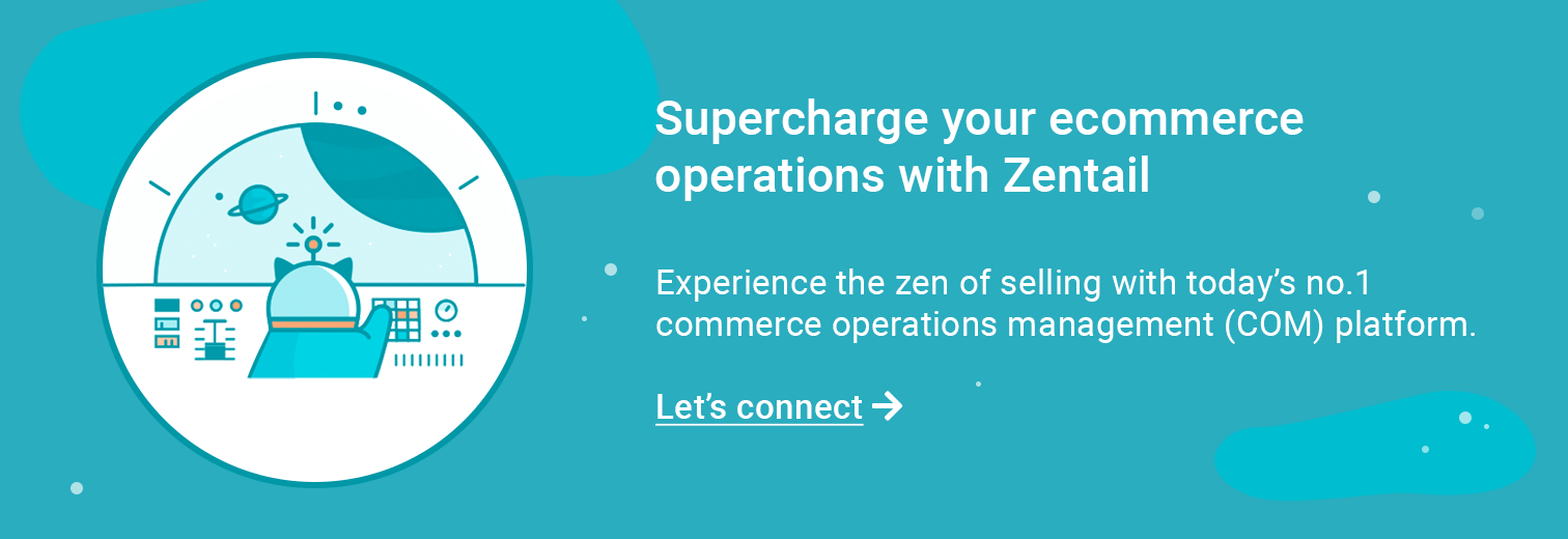contact form for trying zentail's commerce operations platform