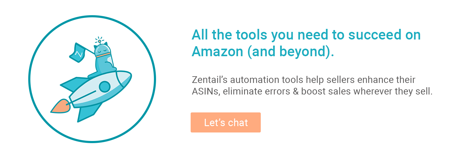 callout for zentail's amazon seller tools