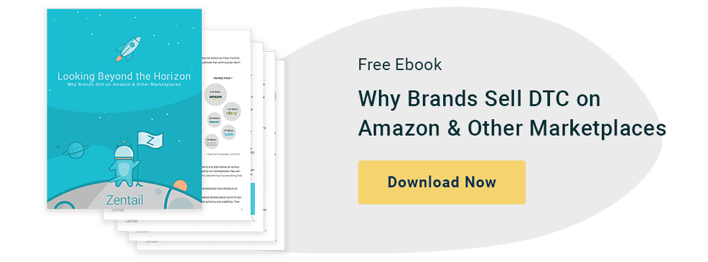 button for free ebook on why brands are selling on Amazon